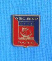 1 PIN'S //  ** BANQUE / BNP PARIS ASC / AMICALE SPORTIVE ET CULTURELLE ** - Bancos