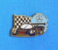 1 PIN'S //  ** SAUBER MERCEDES C9 / 1989 / AEG - N°2 ** . (Arthus Bertrand Paris) - Mercedes