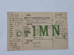 Carte QSL - QRA De Lisboa - Lisbonne - Portugal Vers Paris En 1933-1934  ... Lot140 . - Sin Clasificación