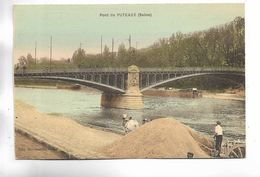 92 - Pont De PUTEAUX ( Seine ) - Carte Colorée - Puteaux