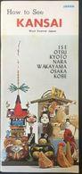 Japan - Kansai Ise Otsu Kyoto 1970 Illustrated Turistic Brochure - Dépliants Touristiques