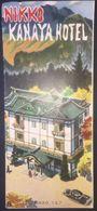 Japan - Nikko Kanaya Hotel 1960's Illustrated Turistic Brochure - Dépliants Touristiques