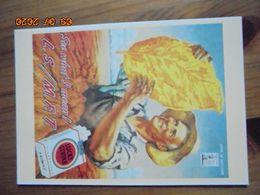 """Carte Postale Publicitaire USA (Taschen 1996) Reproduction 16,3 X 11,4 Cm. Lucky Strike. """"L.S./M.F.T."""" 1945 - Objets Publicitaires"""