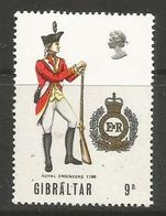 Gibraltar- 1969  Military Uniforms 9p MNH ** - Gibraltar