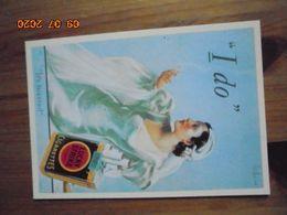 "Carte Postale Publicitaire USA (Taschen 1996) Reproduction 16,3 X 11,4 Cm. Lucky Strike ""I Do"" 1929 - Objets Publicitaires"
