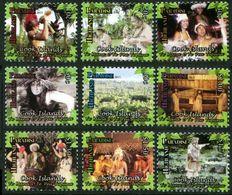 Cook Islands 2014, Highland Paradise, MNH Stamps Set - Cook