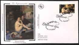 [405455]B/TB//-France  - Les Impressionnistes, Edouard Manet, Le Déjeuner Sur L'herbe, Arts, Peinture - Tableaux - Arte