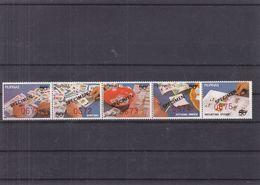 Philippines - Yvert 1343 / 7 ** - Surcharge Spécimen - Aspects De La Philatélie - Pince - Timbres - - Philippines