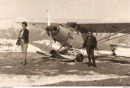PHOTO ORIGINALE 1965 - AVION De TOURISME HYDRAVION - PLANE OF TOURISM HYDRAVION - Aviation