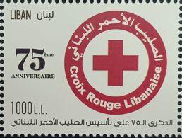 Lebanon 2020 New MNH Stamp - 75th Anniv Of Lebanese Red Cross & Coronavirus Covid-19 Crisis - Libanon
