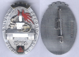 Insigne Du 15e Régiment D'Artillerie - Army