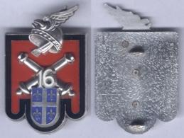 Insigne Du 16e Régiment D'Artillerie - En Relief - Army