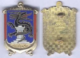 Insigne Du 41e Régiment D'Artillerie De Marine - Army