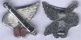 Insigne Du 60e Régiment D'Artillerie - Army