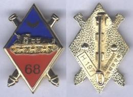 Insigne Du 68e Régiment D'Artillerie - Army