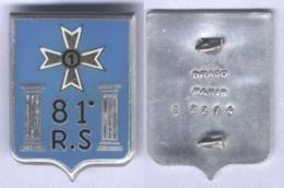 Insigne Du 81e Régiment De Soutien - Army