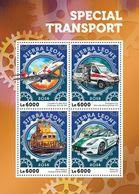 SIERRA LEONE 2016 - Special Transport, Police Car - YT CV=20 €, 5917-20 - Police - Gendarmerie