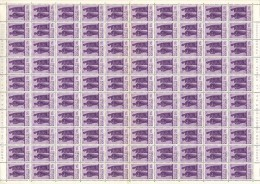 Katanga 0053 - 20c  Feuille / Sheet De 100 - Katanga