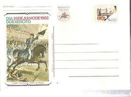 Portugal ** & Postal Stationary, Army Day, Peninsular War, Battle Of Buçaco, Lisbon 1982 (1371) - Celebrations