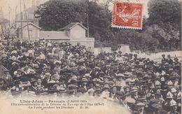 L'ISLE ADAM ,parmain 2 Juillet 1911 - L'Isle Adam