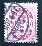 CIFRA / FIGURE -  ANNO/YEAR 1895 - Usati