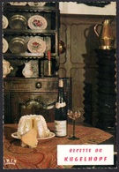 RECETTE DE CUISINE LE KUGELHOPF, ALSACE, CARTE VIERGE - Ricette Di Cucina