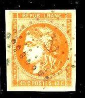 Bordeaux N° 48 -Obl. Ancre - Signé Calves( Bien Margé ) - 1870 Emission De Bordeaux