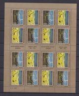 BOSNIE HERZEGOVINE - HERCEG BOSNA - 1993 - FEUILLE NEUVE TIMBRE N°1F/G - EUROPA - ART CONTEMPORAIN - Bosnie-Herzegovine