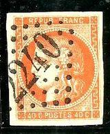 Bordeaux N° 48 -Rge;Orange -signé ( Bien Margé) - 1870 Emission De Bordeaux