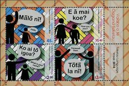 Tokelau 2014, Tokelauean Language, MNH Bloc - Tokelau