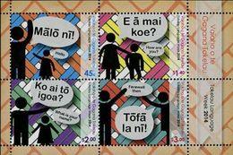 Tokelau 2014, Tokelauean Language, MNH S/S - Tokelau