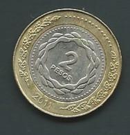 ARGENTINA 2011: 2 Pesos  Pia22908 - Argentina