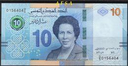 NEW 2020-10 Dinars UNC ( 2 Scans )// Nouveau 10 Dinars 2020 (2 Scans)- ( ENVOI GRATUIT) /(FREE SHIPPING) - Tunisie