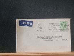 88/963  LETTRE  AUTRALIE    VENTE RAPIDE A 1 EURO DEPART - 1952-65 Elizabeth II: IEmissione Prima Decimali