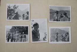 Wo2  Koning Leopold 3  Originele Foto's 5 Stuks - Historical Documents