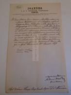 D172613 Old Document -Hungary Esztergom 1875 -Joannes Simor Primas Priceps -Antonius Schaureder-Maria Kohlpacher - Boda