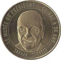 2020 MDP249 - SARRAN - Musée Jacques Chirac (20 Ans) / MONNAIE DE PARIS - Monnaie De Paris