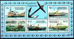105.SOUTH AFRICA 1994 STAMP M/S SHIPS & BOATS  .MNH - South Africa (1961-...)