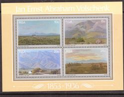 105.SOUTH AFRICA STAMP M/S ART , PAINTINGS .MNH - South Africa (1961-...)