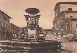 Cartolina - Postcard / Non Viaggiata -  Unsent /  Faenza, Fontana Monumentale. ( Gran Formato ) - Faenza