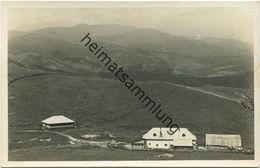 Stubalpe - Altes Almhaus - Foto-AK - Verlag K. Glantschnigg Graz 1936 Gel. 1936 - Autriche