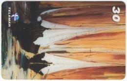 BRASIL I-620 Magnetic Telemar - Painting, Modern Art - Used - Brésil