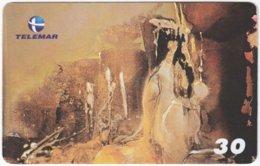 BRASIL I-651 Magnetic Telemar - Painting, Modern Art - Used - Brésil