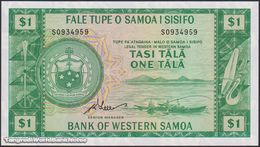 TWN - WESTERN SAMOA 16dCS - 1 Tala 1967 UNC  Limited Official Reprint 2020 - Samoa