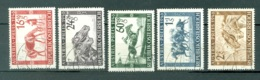Autriche  Yvert  648/652  Ou  Michel 785/789  Ob TB - 1945-60 Used