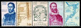 TT0185 Spain 1968 America Discoverer Map, Etc. 5V - 1868-70 Gobierno Provisional
