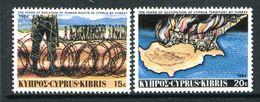 Cyprus 1984 Tenth Anniversary Of Turkish Landings In Cyprus Set MNH (SG 639-640) - Zypern (Republik)