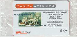 14-Carta Azienda-Fusina Camping Village-Fusina-Venezia-Nuova In Confezione Originale - Télécartes