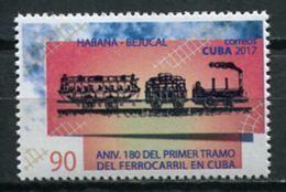Cuba 2017 / Railway Train MNH Tren Zug / Cu6902  32-1 - Trenes