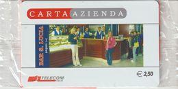 15-Carta Azienda-Bar S. Lucia-Fusina-Salerno-Nuova In Confezione Originale - Télécartes
